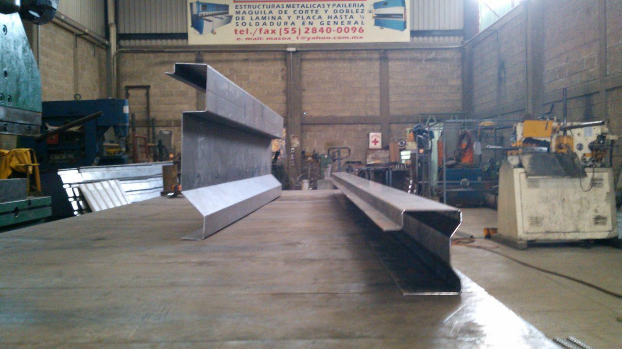 Experiencia masoa trabajos realizados por la empresa for Placa de acero